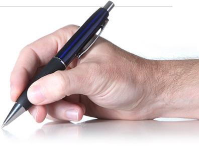 Cầm bút đúng cách để viết chữ đẹp
