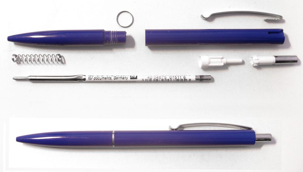 Cấu tạo của bút bi