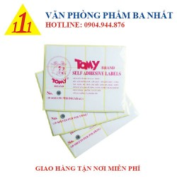 Giấy decal Tomy A5