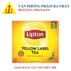 Trà Lipton nhãn vàng Yellow Label (100 gói)
