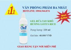 GEL RỬA TAY KHÔ ON1 220ML