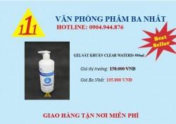 GEL RỬA TAY KHÔ CLEARWATERIS 500ML