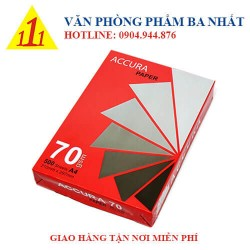 Giầy A4 Accura 70gsm