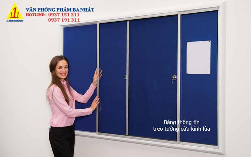 bảng thông tin, bảng thông báo, bảng thông tin treo tường, bảng thông tin treo tường có cửa kính
