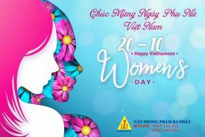 mừng ngày phụ nữa Việt Nam 20/10 vpp Ba Nhất